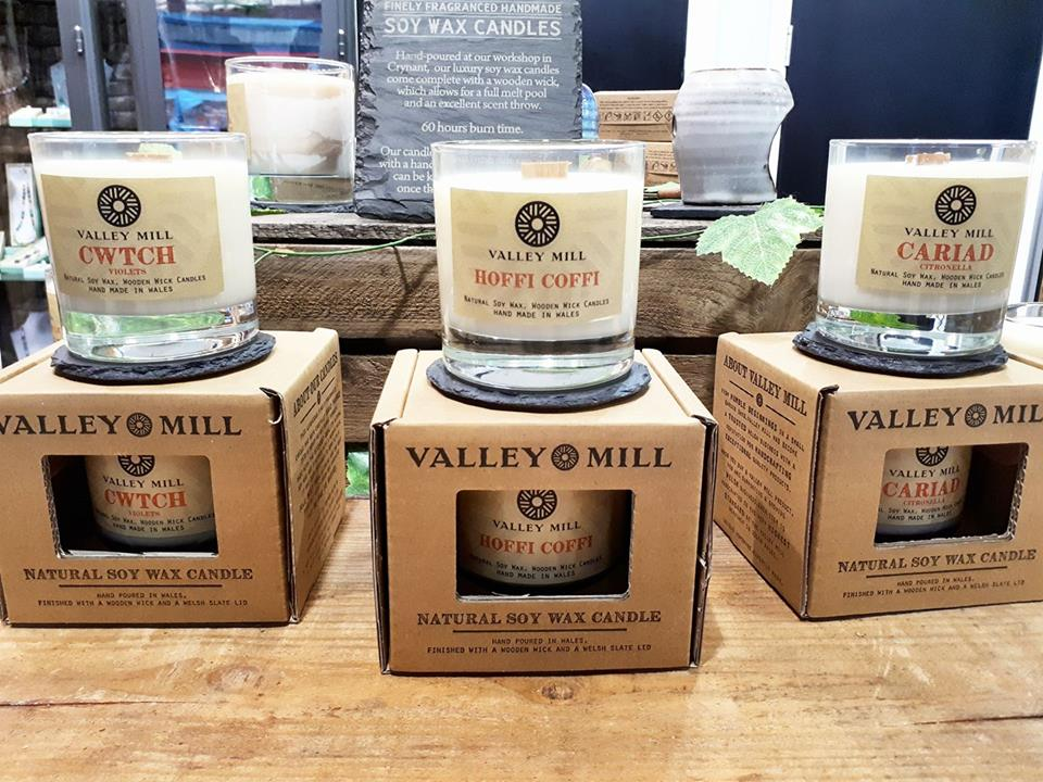 Brand new welsh soy wax candles
