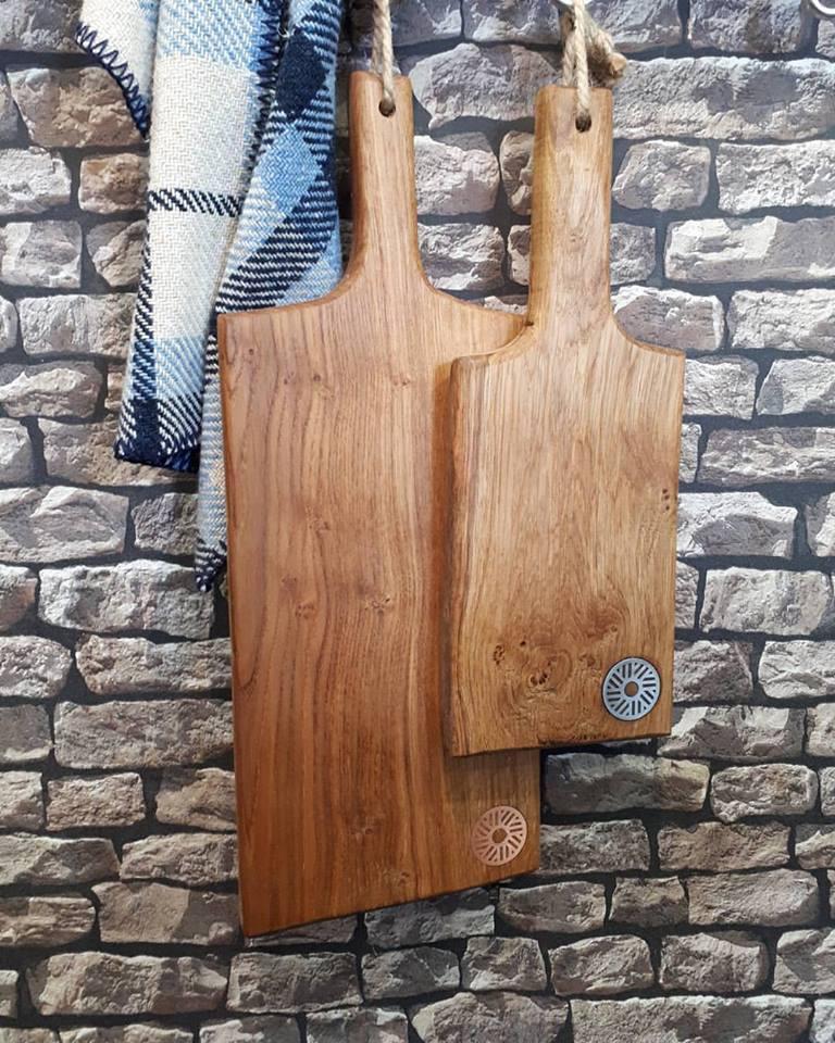 Valley Mill Welsh Oak Serving Platters