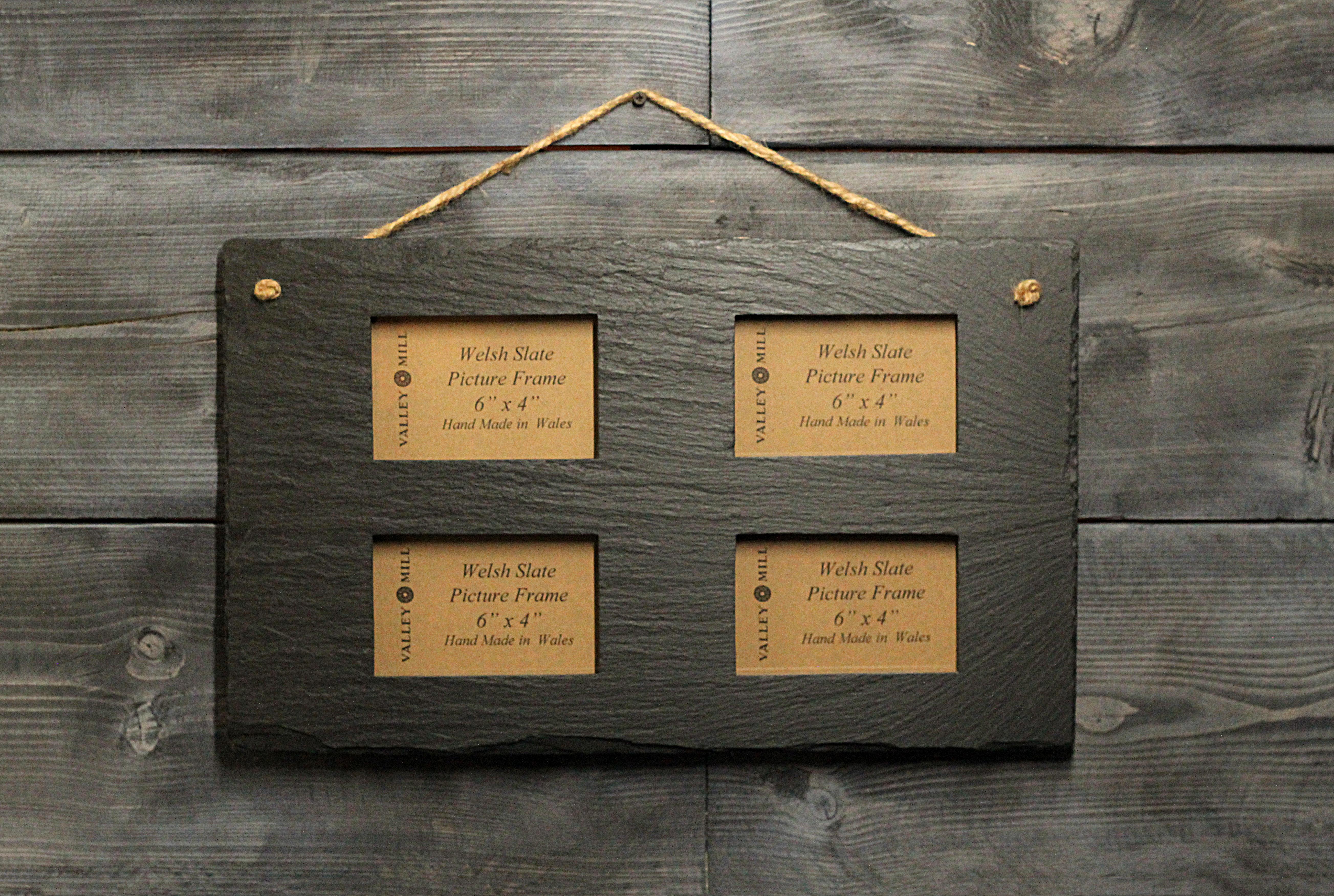 Welsh slate picture frame