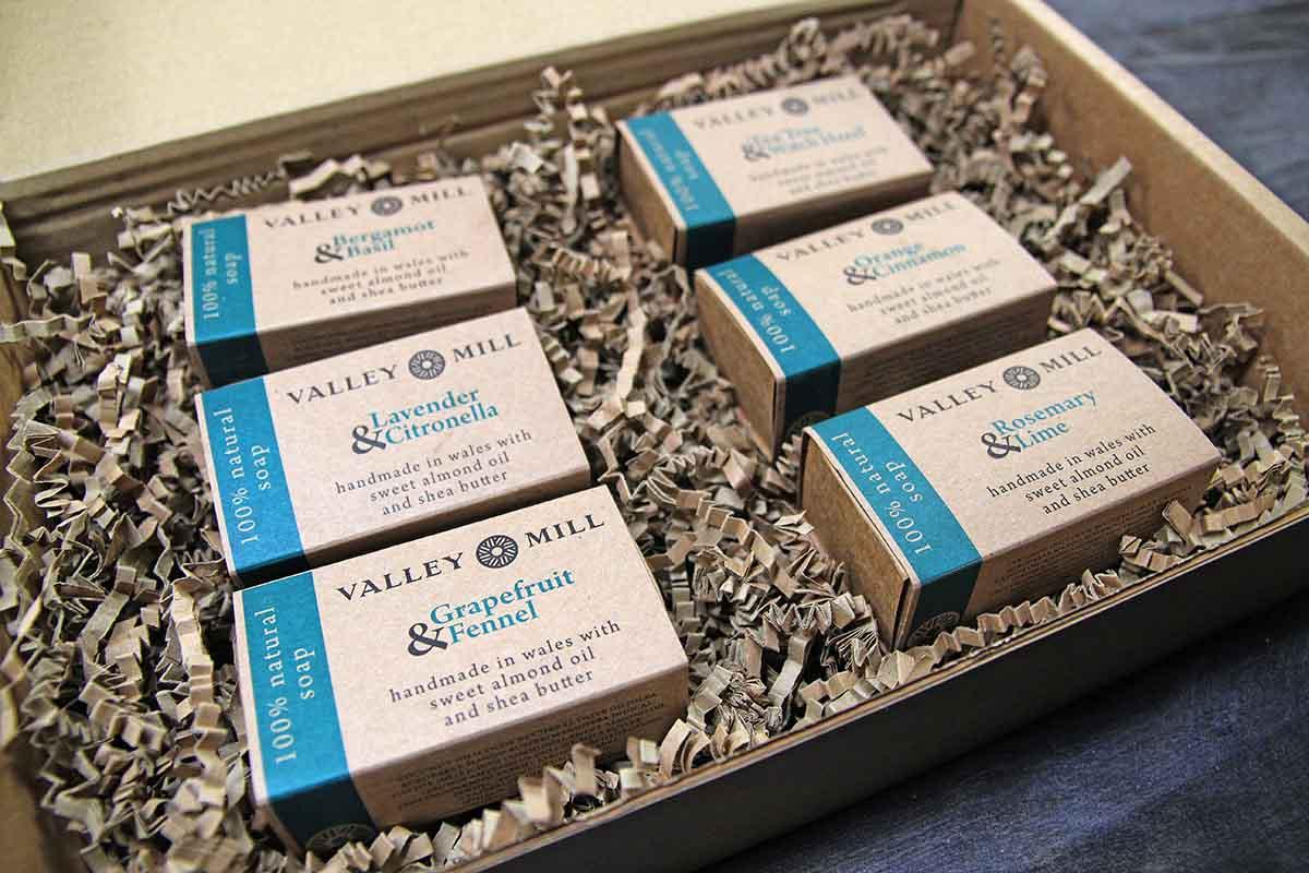 Handmade Natural Soap Gift Box Set
