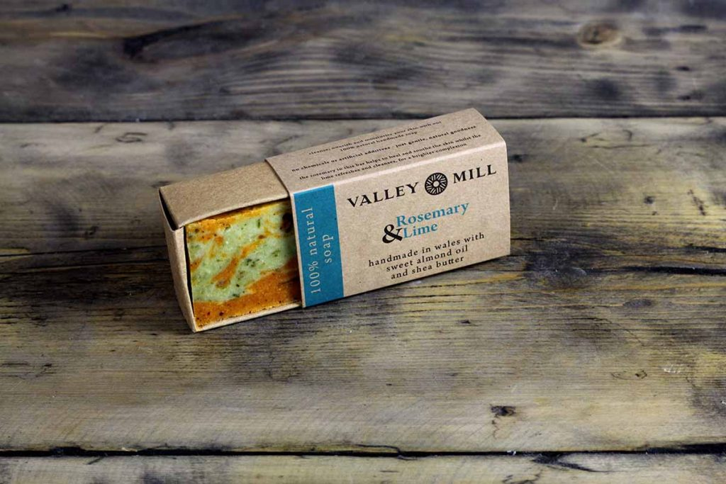 Handmade Natural Rosemary & Lime Soap for Cleansing