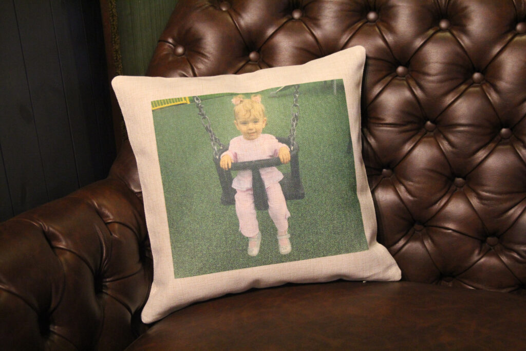 Personalised Photo Cushion For Mother's Day
