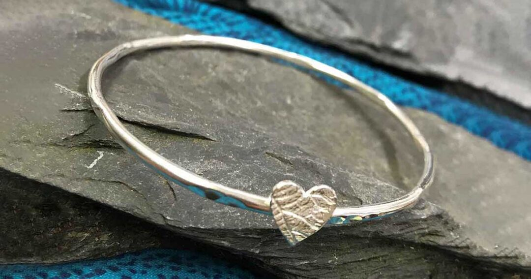 Creative Impressions Jewellery Sterling Silver Bangle