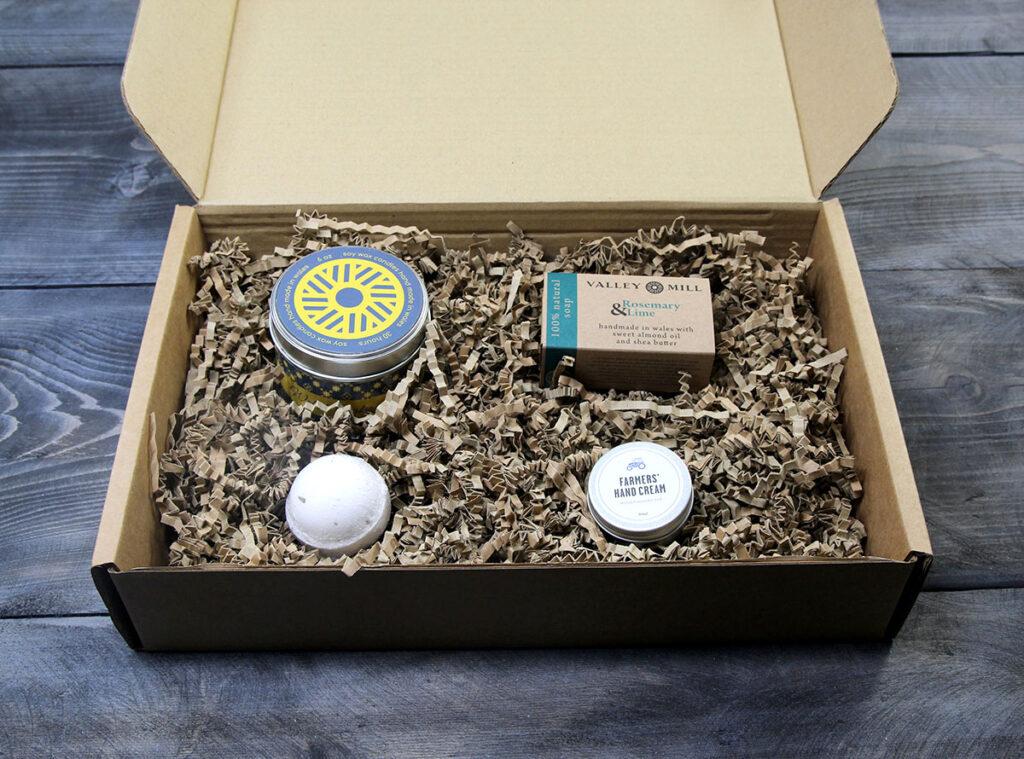 Natural Handmade Pamper Set Mother's Day Gift Idea
