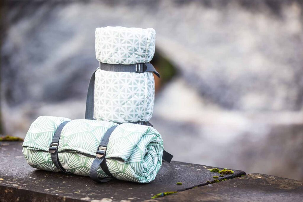 Valley Mill Newbury Cotton Quilted Picnic Blankets