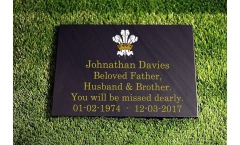 300 x 400 Flat Memorial