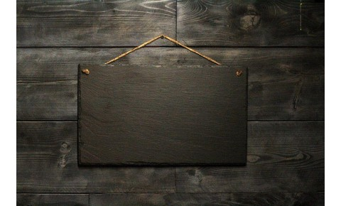 Welsh Slate Memo Board - Large Landscape