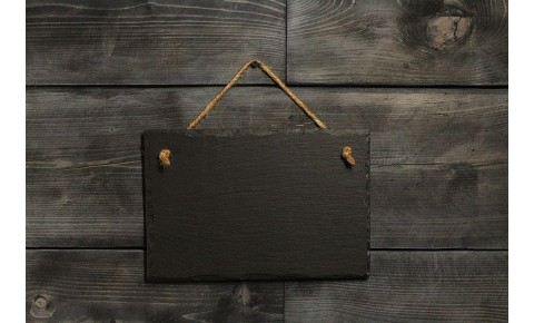 Welsh Slate Memo Board - Small Landscape
