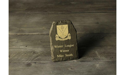 Welsh Slate Plaque - Small