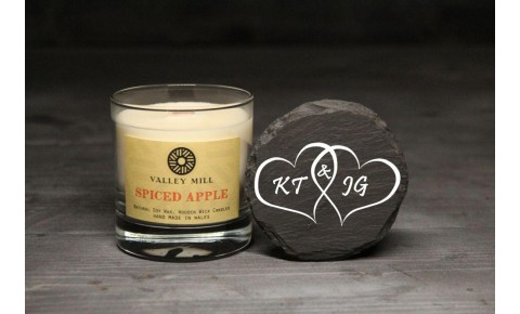Personalised Spiced Apple Soy Candle