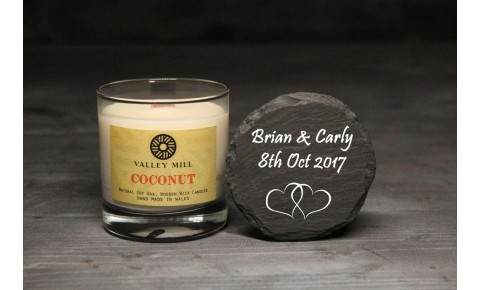 Personalised Coconut Soy Candle