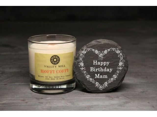 Personalised Hoffi Coffi Coffee Soy Candle