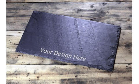 Personalised Welsh Slate Table Runner