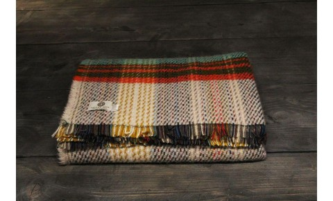 Small recycled wool throw
