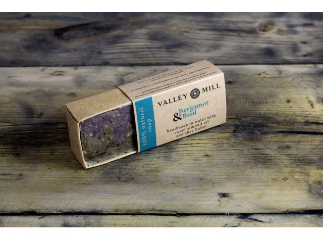 Natural Bergamot & Basil Soap