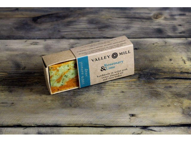 Natural Rosemary & Lime Soap