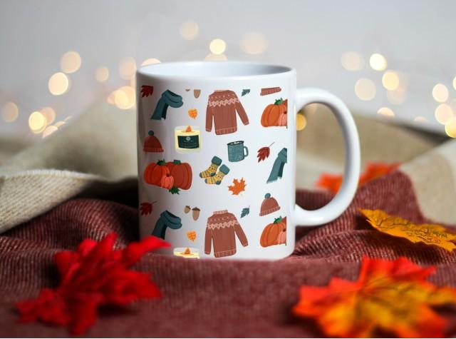 Autumn Ceramic Mug | Valley Mill