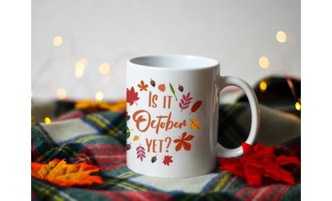Is It October Yet Ceramic Mug | Valley Mill