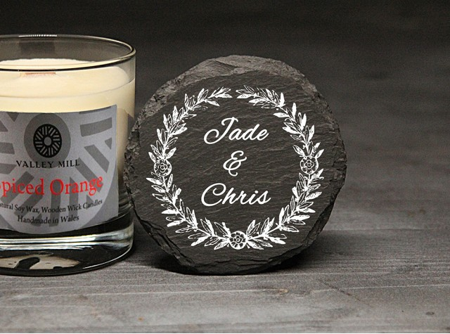 Personalised Spiced Orange Soy Candle