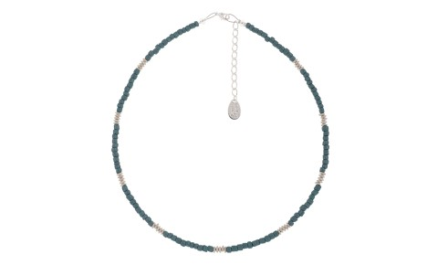 Aztec Teal Necklace