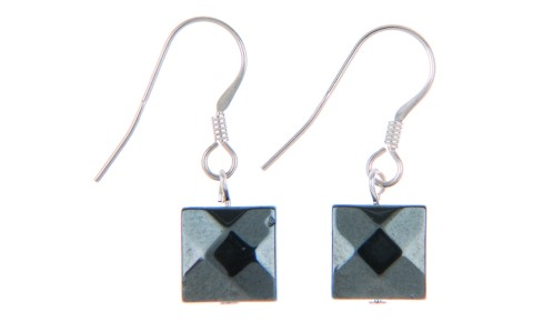 Boudica Metallic Gun Metal Earrings