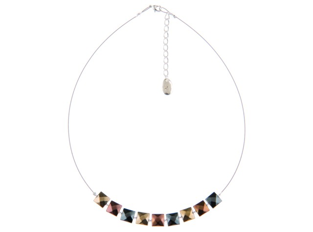 Boudica Metallic Necklace