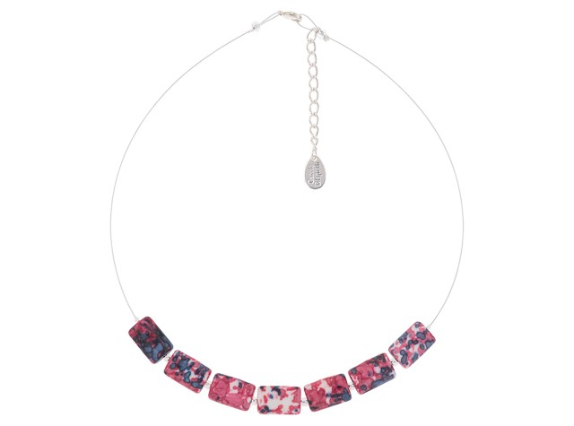 Pink Rainflower Necklace