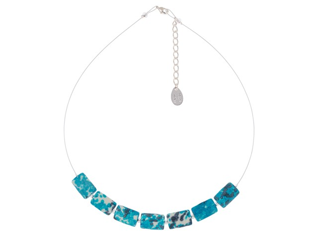 Turquoise Rainflower Necklace