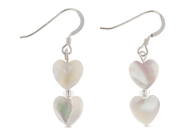 Shell Hearts Earrings
