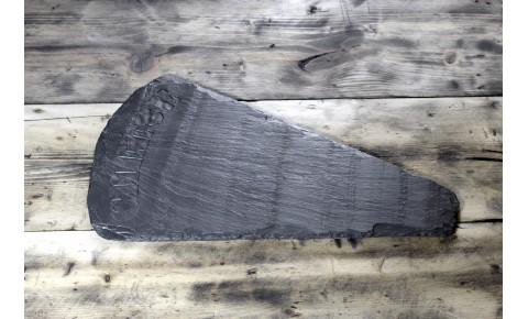 Welsh Slate cheese board - Cheese Wedge