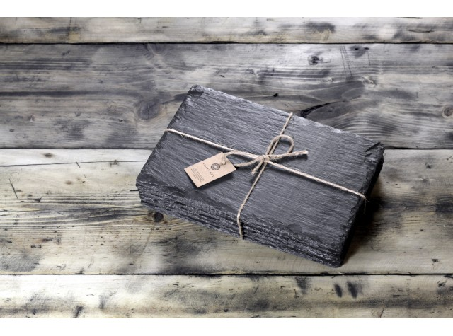 4 x Rectangular Welsh Slate Placemats