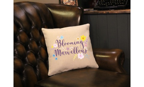 Blooming Marvellous Cushion