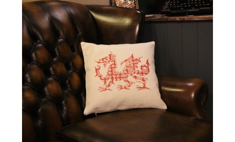 Welsh Dragon Cushion