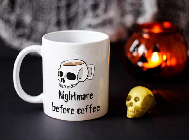 Nightmare Before Coffee Ceramic Mug | Valley Mill