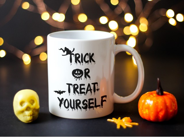 Trick or Treat Yourself Ceramic Mug | Valley Mill
