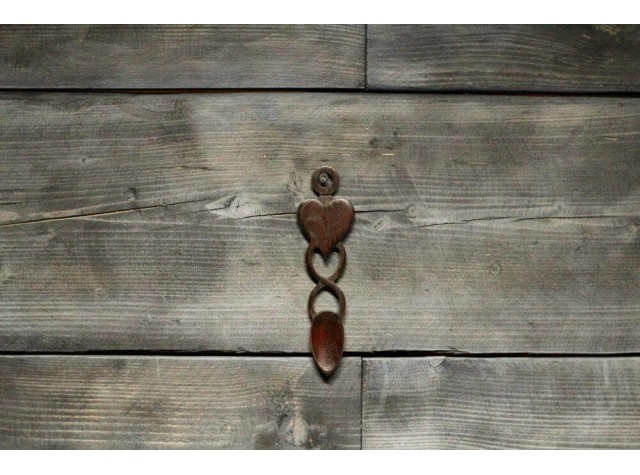 Handmade Love Spoon - Heart