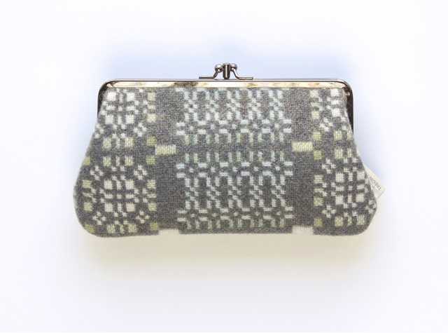 Melin Tregwynt - Large Knot Garden Bluestone Welsh Double Purse