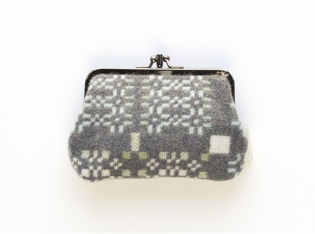 Melin Tregwynt - Medium Knot Garden Bluestone Welsh Double Purse