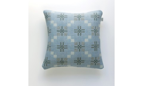 Melin Tregwynt - St David's Cross Bluestone Welsh Cushion