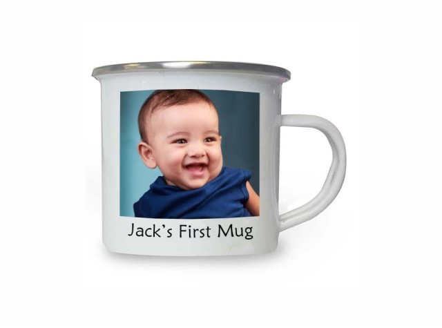 Photo Enamel Mug