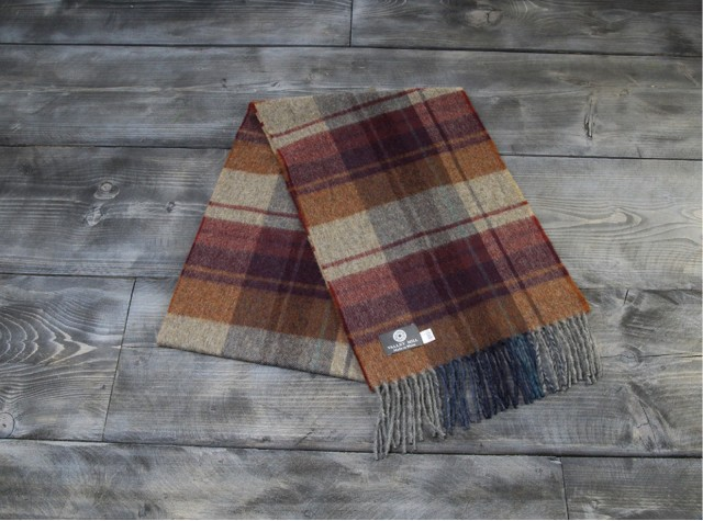 Country Arran Welsh Woolen Scarf