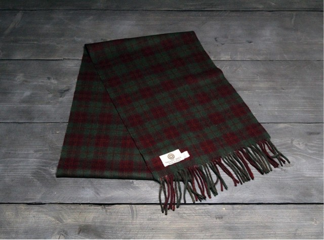 Country Autumn Welsh Woolen Scarf