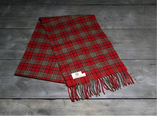 Country Ruby Welsh Woolen Scarf