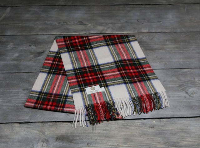Dress Stewart Welsh Woolen Scarf