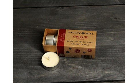 Cwtch Violets Soy Wax Tea Lights