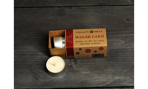 Welsh Cake Soy Wax Tea Lights