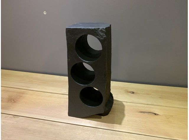 3 Hole Welsh Slate Wine Rack