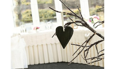 Welsh Slate Small Heart