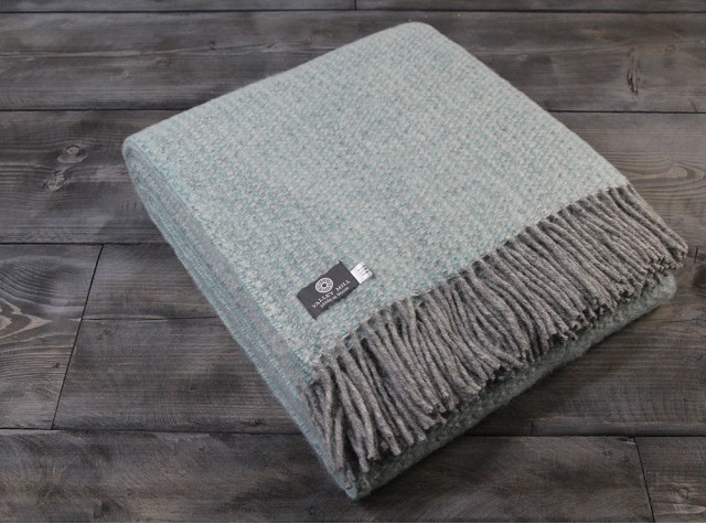 Illusion Spearmint Welsh Blanket