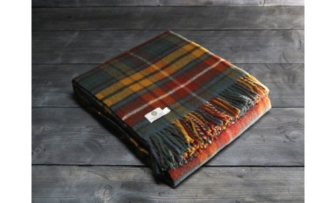 Antique Buchanan Welsh Blanket